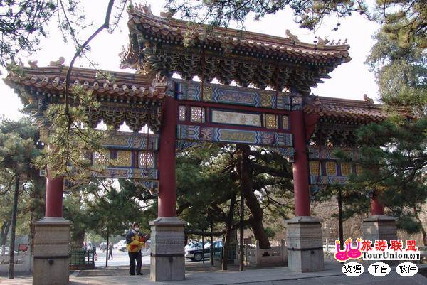中国 北京 门头沟 潭柘戒台风景区    潭柘寺位于北京西郊门头沟区东