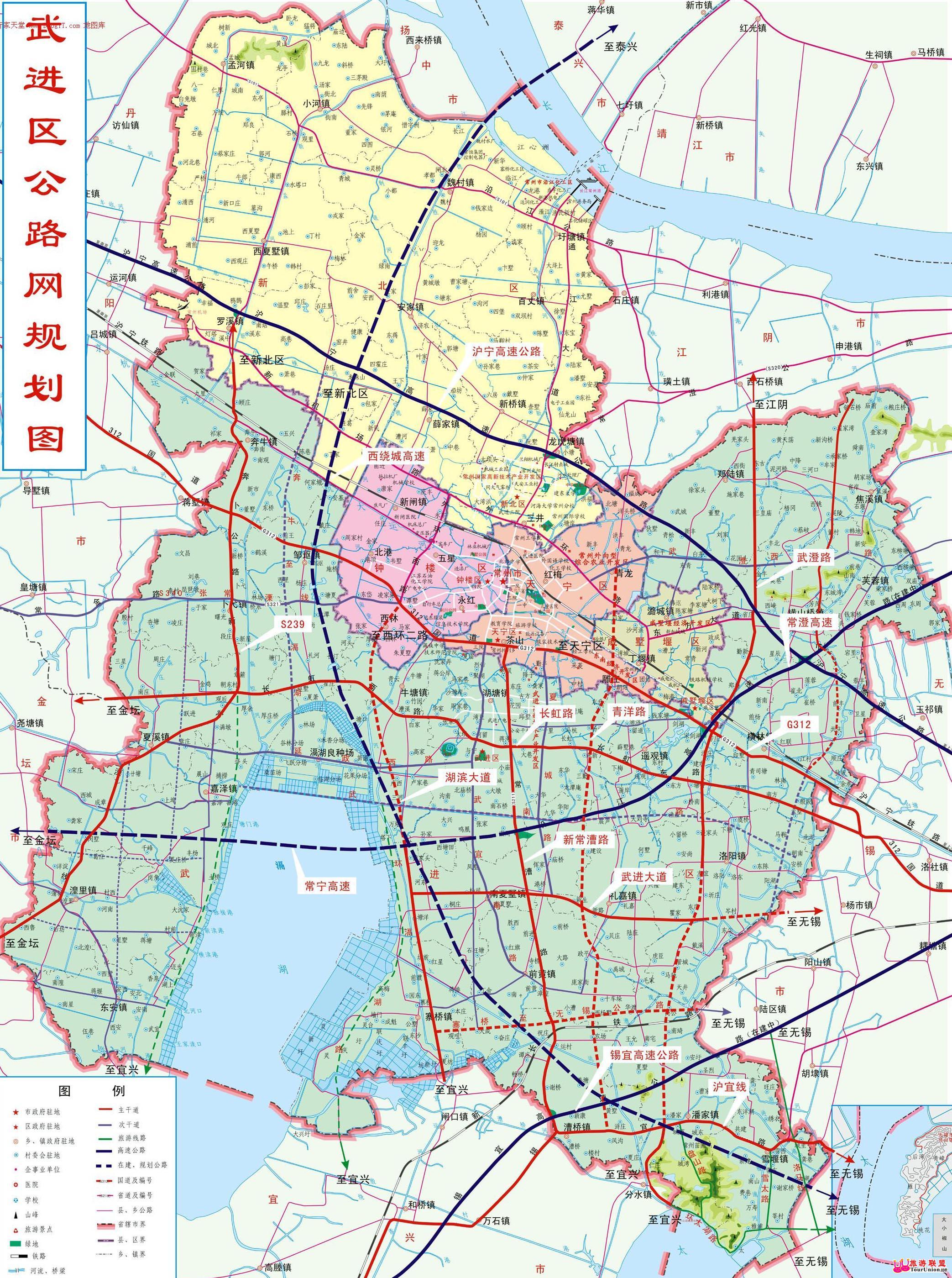 武进市卫星地图-武进市市、县、村地图浏览