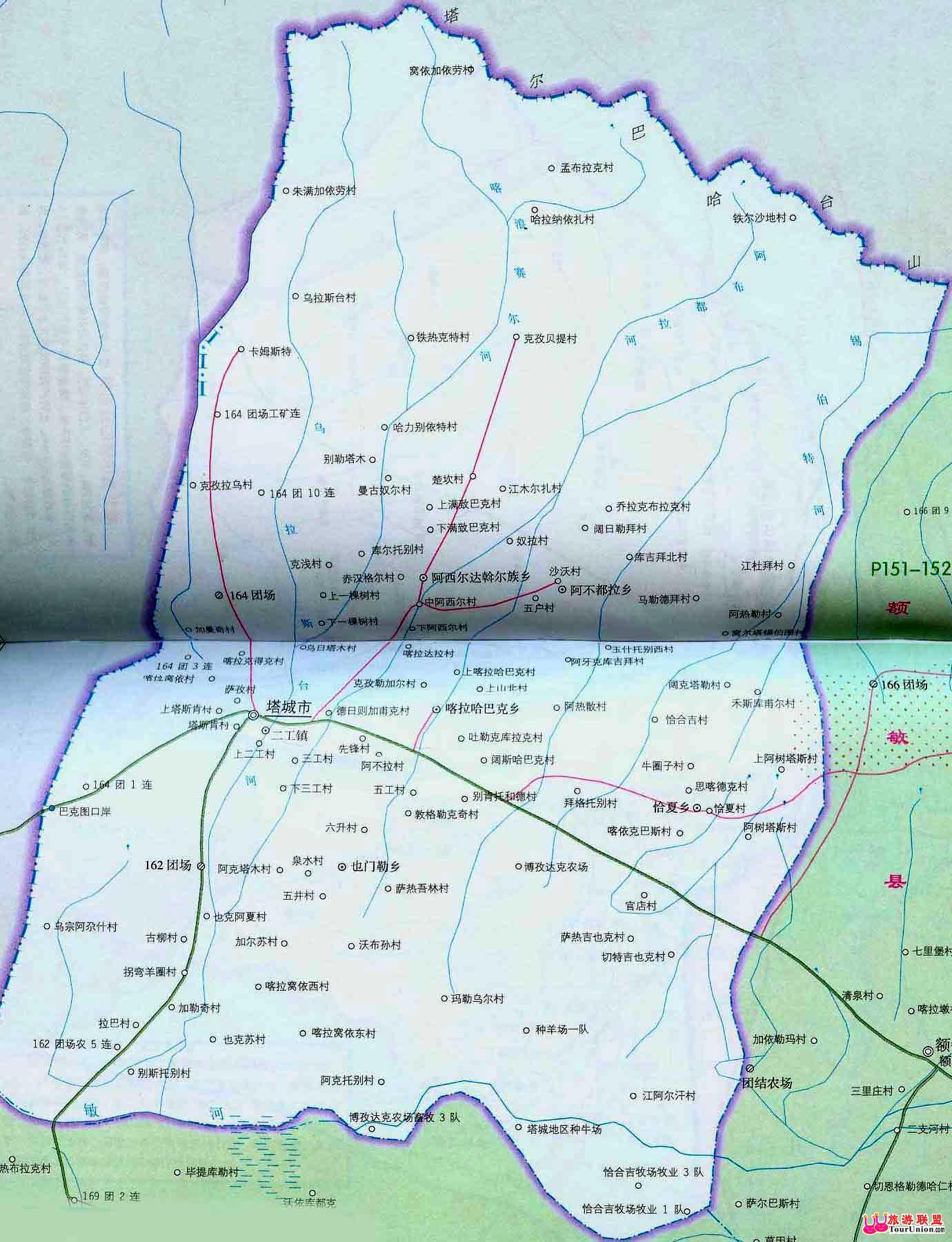 裕民电子地图·裕民风光图库·图行塔城·图行新疆