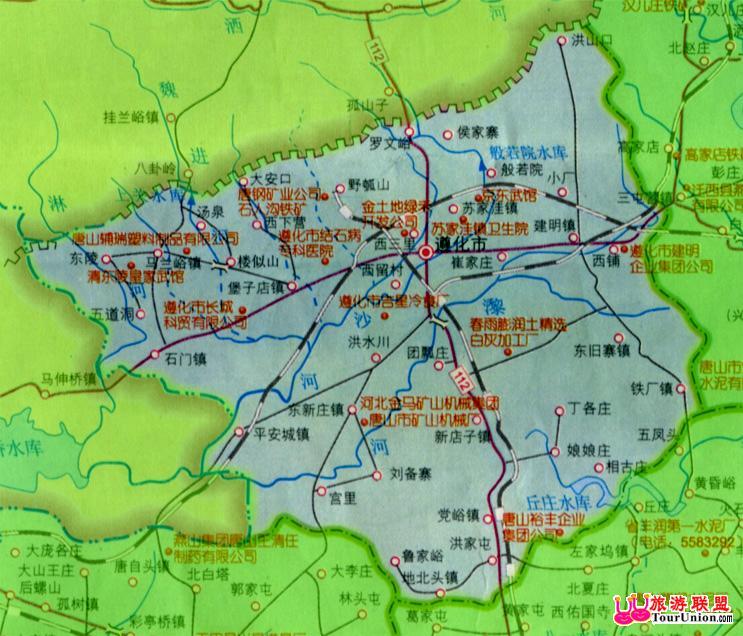 遵化电子地图·遵化风光图库·图行唐山·图行河北