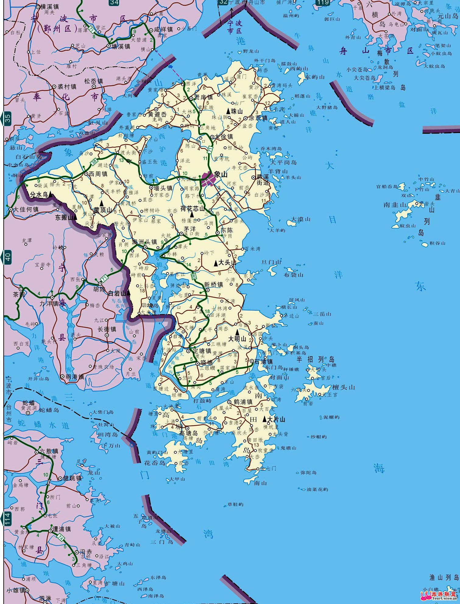 图行本地:··象山电子地图·象山风光图库·图行