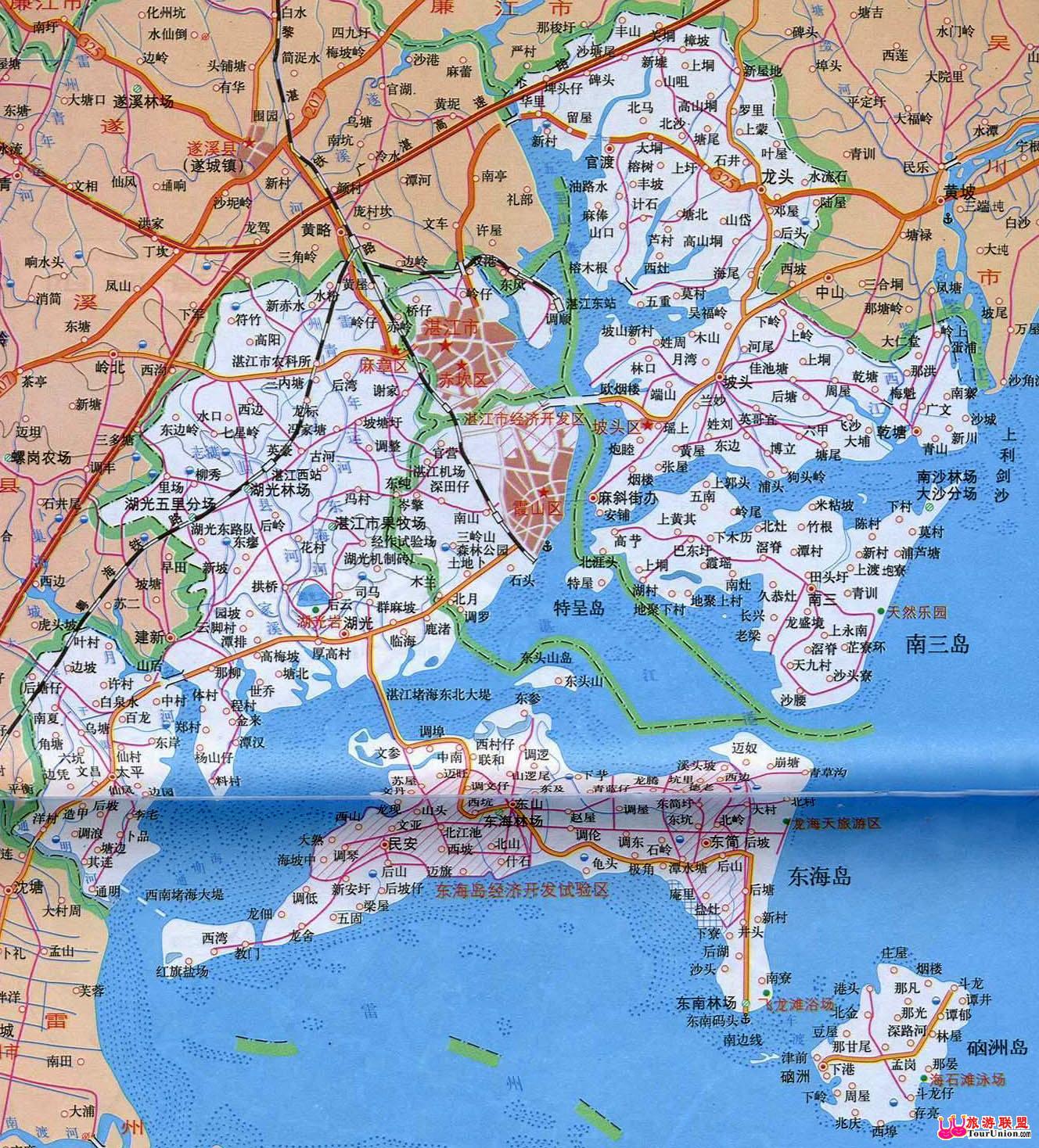 赤坎电子地图·赤坎风光图库·图行湛江·图行广东